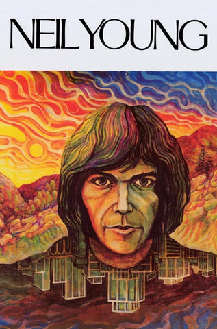 Neil Young Album Cover Poster