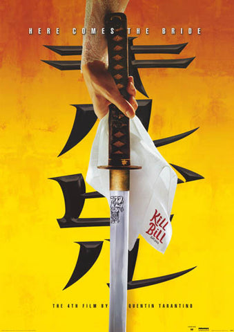 Kill Bill Here Comes the Bride Orig 2003 24x34 Poster
