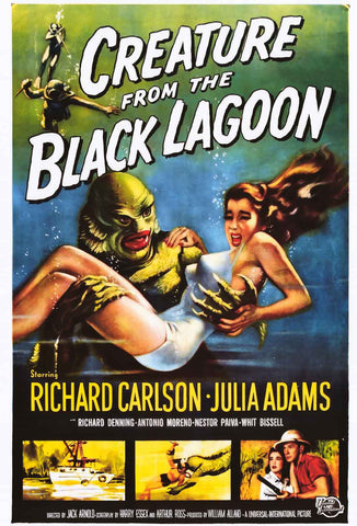 Creature from the Black Lagoon Movie Poster