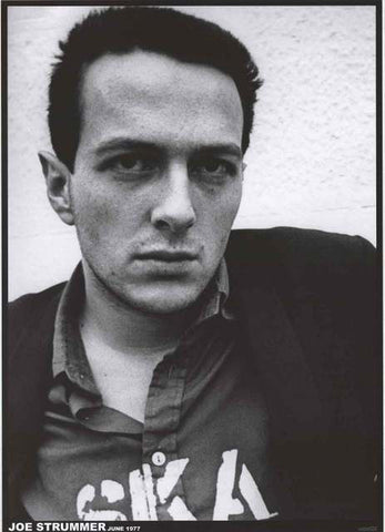 The Clash Joe Strummer Poster