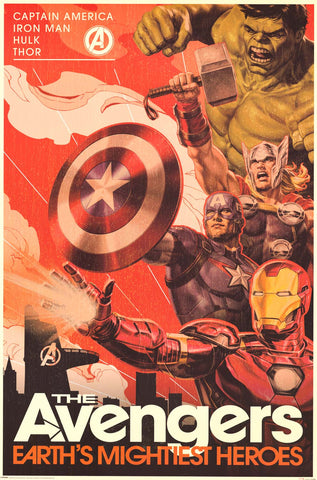 "Poster: The Avengers Marvel Comics (24""x36"")"