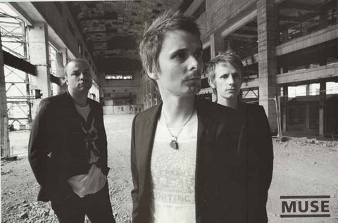 Muse Band Portrait Poster