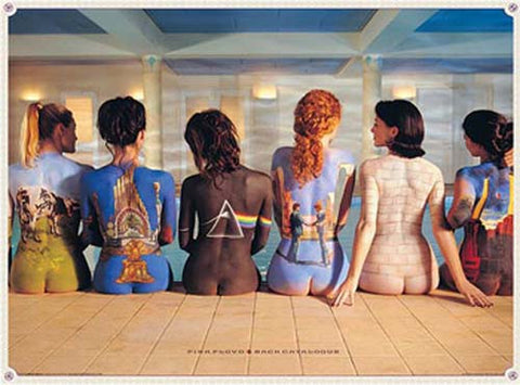 Pink Floyd Back Catalog XL Giant 40x60 Poster