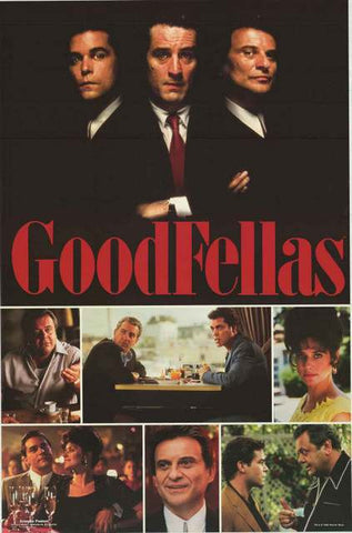 Goodfellas Movie Cast Poster 23x34