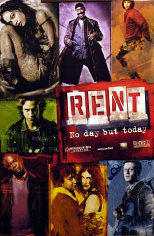 Rent Broadway Musical Movie Poster