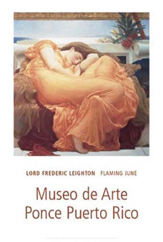 Frederic Leighton Flaming June Poster