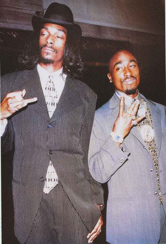 Snoop Dogg and Tupac Shakur Poster