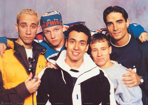 Backstreet Boys Band Poster