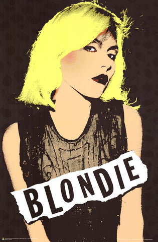 Poster: Blondie Debbie Harry Pop Art