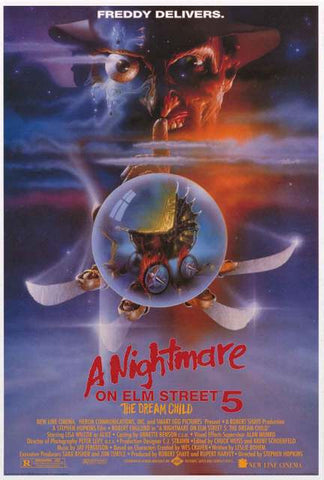 Nightmare on Elm Street Movie Poster