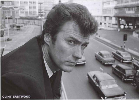 Clint Eastwood Portrait Poster