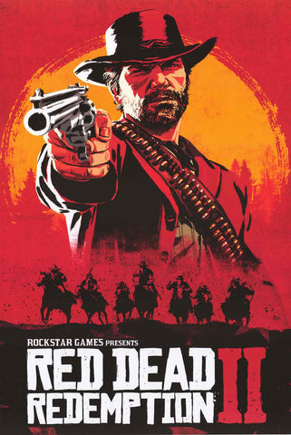 Red Dead Redemption Video Game Poster