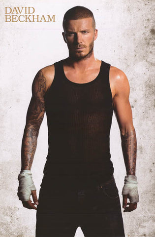 David Beckham Portrait Poster