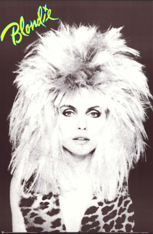 Poster: Blondie Debbie Harry - Big Hair