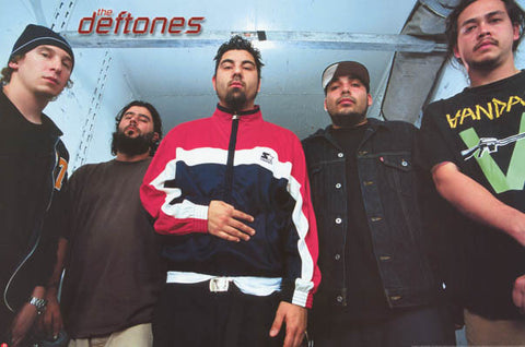Deftones Group Portrait Chino Moreno 24x36 Poster