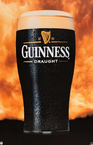 Guinness Pub Draught Beer Poster