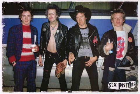 The Sex Pistols Band Poster