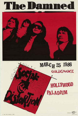 The Damned Band Poster