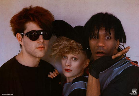 Thompson Twins Band Poster
