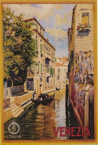 Venice Italy Travel Poster