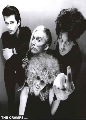 The Cramps Band Poster