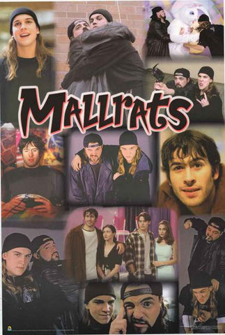 Mallrats Movie Cast Poster