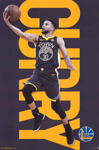 Golden State Warriors Steph Curry Poster