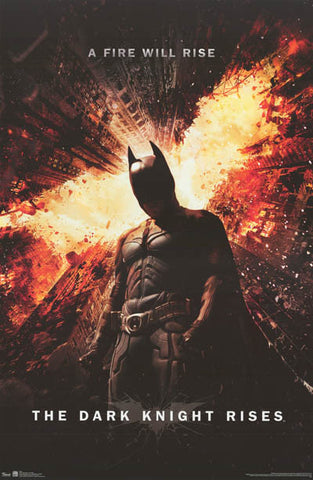 Batman The Dark Knight Rises Movie Poster