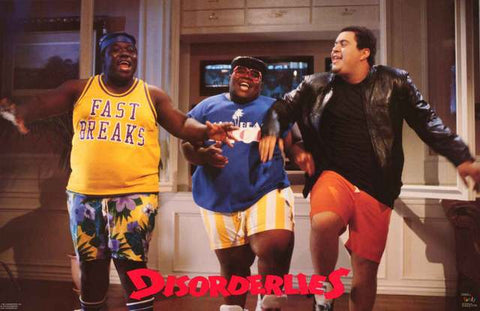The Fat Boys Disorderlies Poster