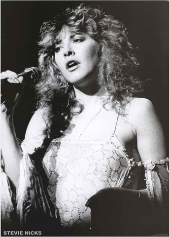 Stevie Nicks Portrait Poster