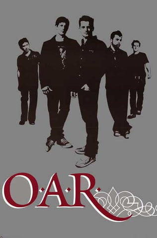 Of A Revolution OAR Band Poster