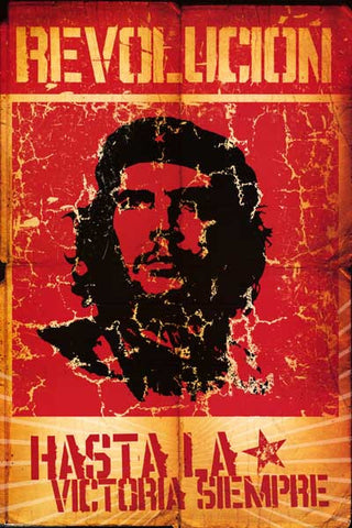 Che Guevara Revolution Pop Art Poster