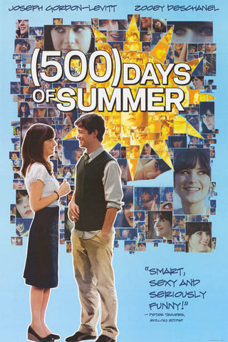 """(500) Days of Summer"" Movie Poster"