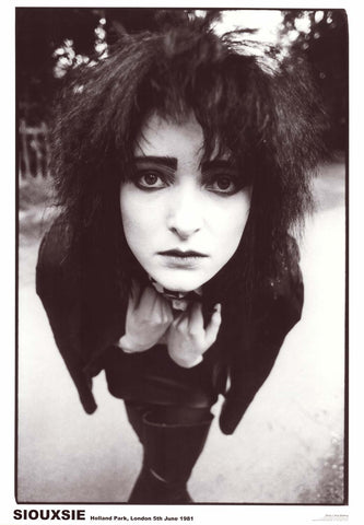 Siouxsie Sioux London 1981 Poster