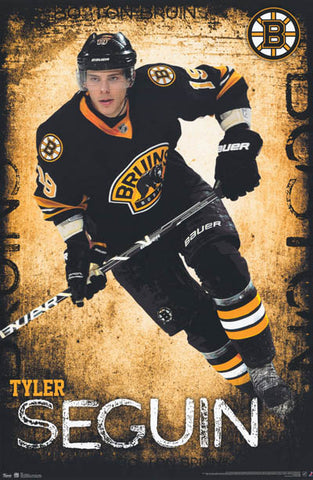 Tyler Seguin Boston Bruins NHLHockey Poster