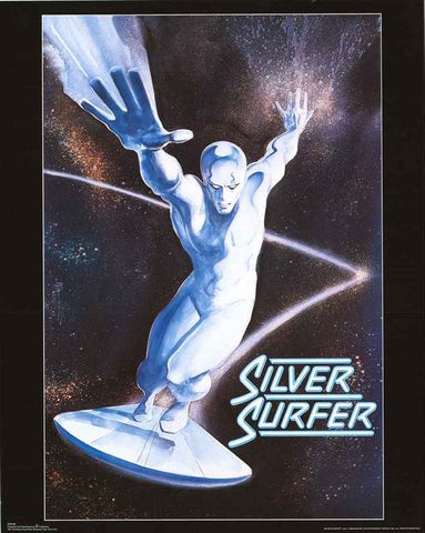 Silver Surfer Marvel Comics Poster