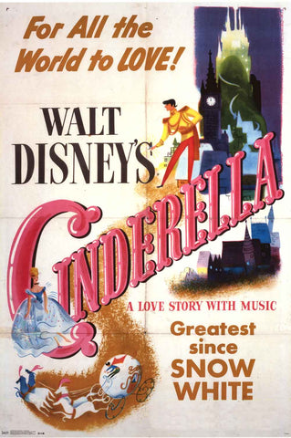 Cinderella Disney Movie Poster