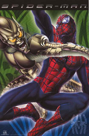 Spider-Man Marvel Comics Poster