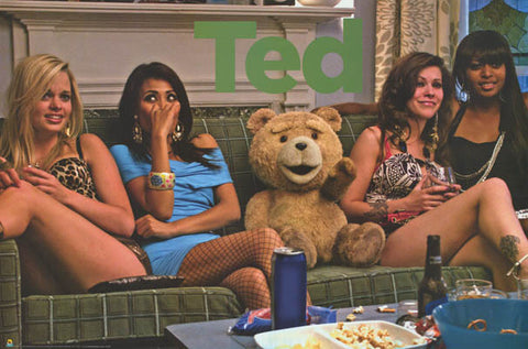 Ted Seth MacFarlane Movie Poster