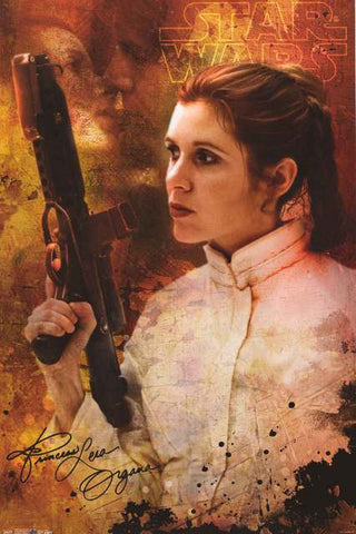 Star Wars Princess Leia Poster