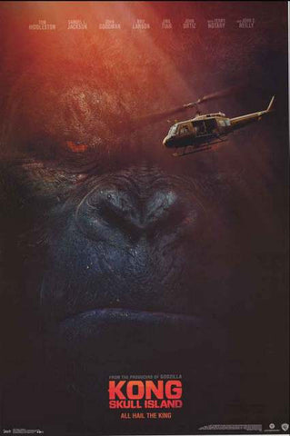 Kong Skull Island Movie Poster