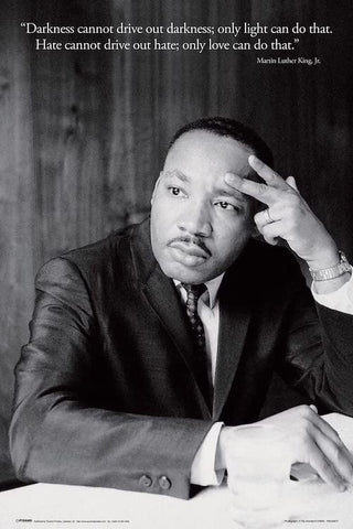 Martin Luther King Jr Quote Poster 24x36