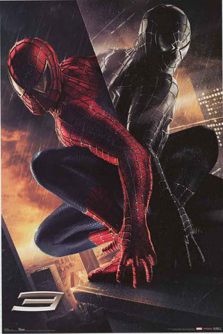 Spider-man 3 Marvel Comics Movie Poster