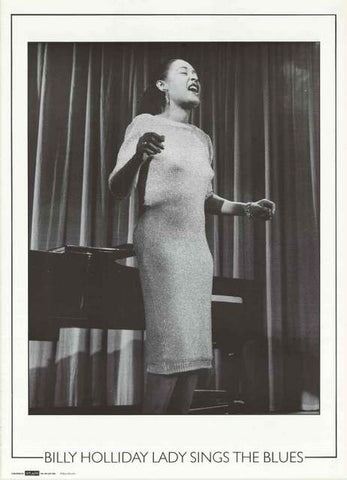 Billie Holiday Portrait Poster