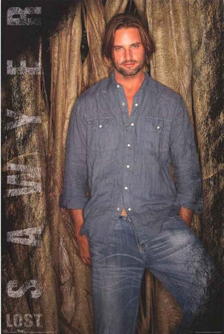 Josh Holloway Sawyer Lost Poster