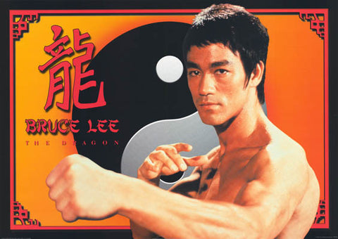 Bruce Lee The Dragon Poster