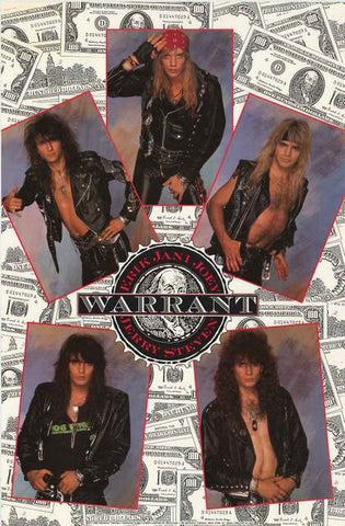 Warrant Band Poster