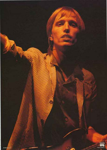 Tom Petty 1978 Portrait Poster 24x33
