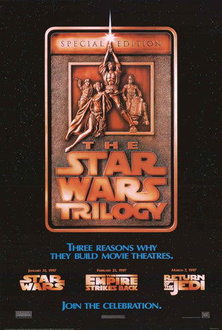 Star Wars Trilogy Movie Poster