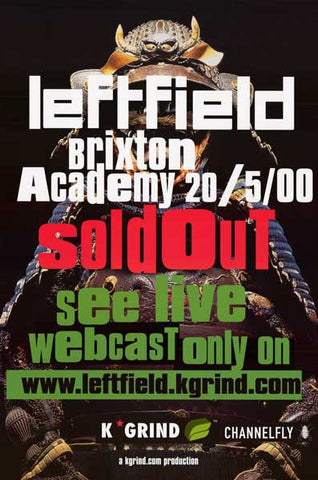 Leftfield Band Poster
